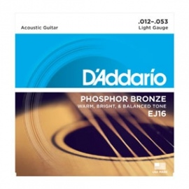 Phosphor Bronze EJ16 .012-.053 Light Gauge