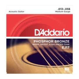 Phosphor Bronze EJ17 .013-.056 Medium Gauge
