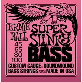 Super Slinky Bass Roundwound Custom Gauge