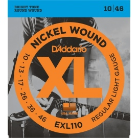 EXL110 Nickel Wound XL Regular Light Gauge 10-46