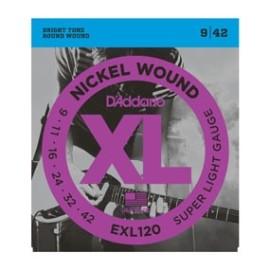 EXL120 Nickel Wound XL Super Light Gauge 9-42