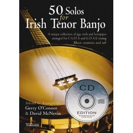 50 Solos For Irish Tenor Banjo BK/CD