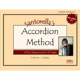 Santorellas Accordion Method Book 1A Book & CD