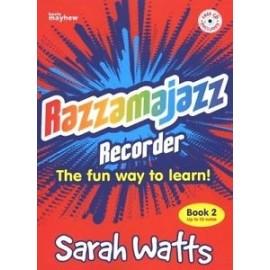 Razzamajazz Recorder Book 2 (Bk&Cd)