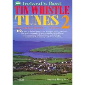 110 Irelands Best Tin Whistle Tunes 2 (Book Only)