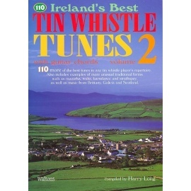 110 Irelands Best Tin Whistle Tunes Volume 2 (Book Only Edition)