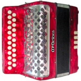 B/C 3208 Button Accordion