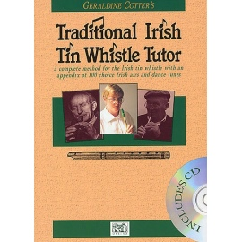 Geraldine Cotters Traditional Irish Tin Whistle Tutor (BK & CD)