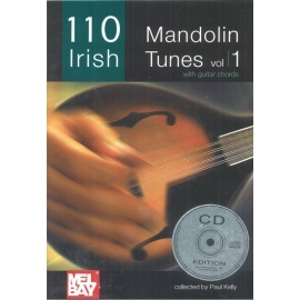 110 Irish Mandolin Tunes Volume 1 (Book Only)