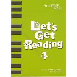 RIAM Lets Get Reading Grade 1
