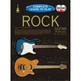 Complete Learn To Play Rock Guitar Manual (Book & 2 CDs)