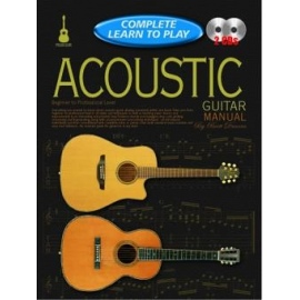 Complete Learn To Play Acoustic Guitar Manual (Book & 2 CDs)