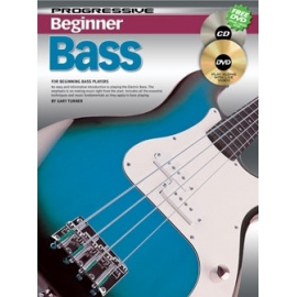 Progressive Beginner Bass (BK&CD&DVD)