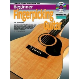 Progressive Beginner Fingerpicking Guitar (BK&CD)