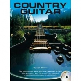 Country Guitar By Alan Warner (Book & CD)