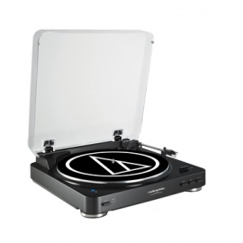 AT-LP60SPBTBK Bluetooth Turntable with free wireless speaker