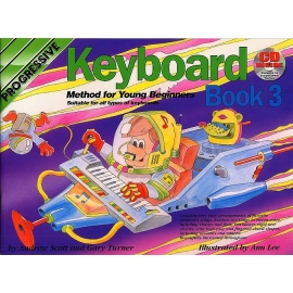 Progressive Keyboard Method for Young Beginners Book 3