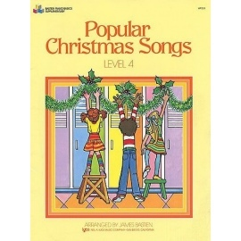 Popular Christmas Songs Level 4 By James Bastien