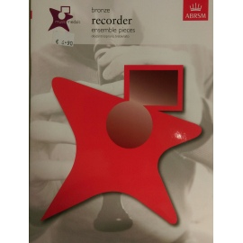 ABRSM Music Medals Bronze Recorder Ensemble Pieces Descant/Soprano/Treble/Alto