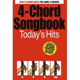 4-Chord Songbook - Todays Hits