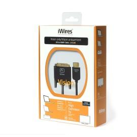 iWires DVI Plug to HDMI Plug