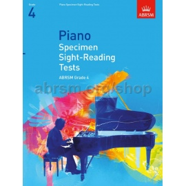 ABRSM Piano Specimen Sight Reading Tests Grade 4