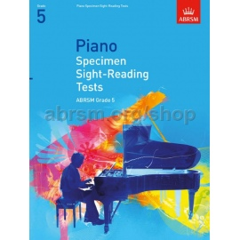 ABRSM Piano Specimen Sight Reading Tests Grade 5