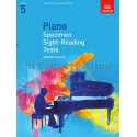 ABRSM Piano Specimen Sight-Reading Tests Grade 5