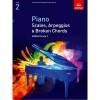 ABRSM Piano Scales, Arpeggios & Broken Chords Grade 2