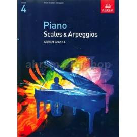 ABRSM Piano Scales & Arpeggios Grade 4