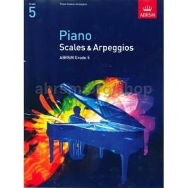 ABRSM Piano Scales & Arpeggios Grade 5
