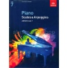 ABRSM Piano Scales & Arpeggios From 2009 Grade 7