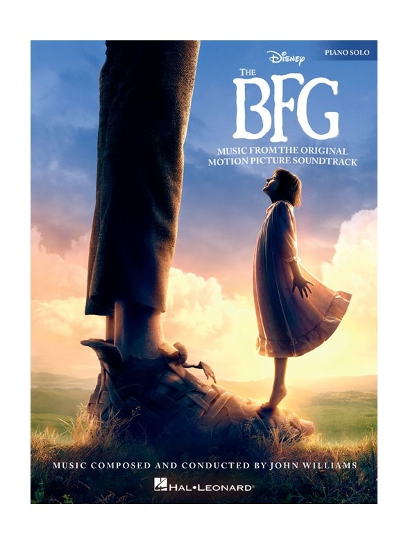 THE BFG MUSIC FROM THE ORIGINAL MOTION PICTURE SOUNDTRACK: PIANO SOLO    FILM & MUSICALS   SAVINS MUSIC CENTRE