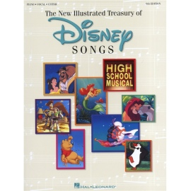 Disney's The Illustrated Treasury Of Disney Songs: 6th Edition