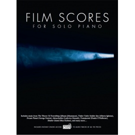 Film Scores For Solo Piano (Book/Audio Download)