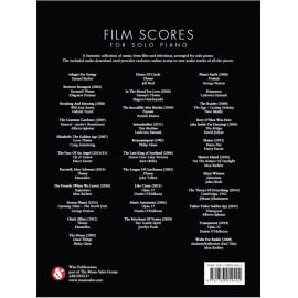 Film Scores For Solo Piano (Book/Audio Download)