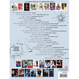 The Ultimate James Bond Collection Music from all 24 films - Piano Vocal Guitar