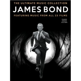 The Ultimate James Bond Collection Music from all 23 films - Piano Vocal Guitar