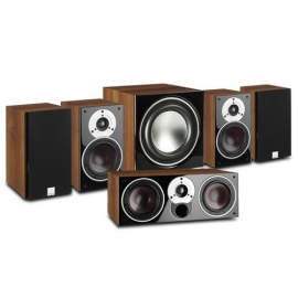 ZENSOR 1 5.1 Speaker System with E-9-F Sub - Black