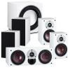 ZENSOR 1 5.1 Speaker System with E-9-F Sub - White