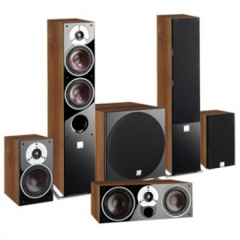 ZENSOR 5 5.1 Speaker System with E-12-F Sub - Black