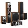 ZENSOR 5 5.1 Speaker System with E-12-F Sub - Walnut