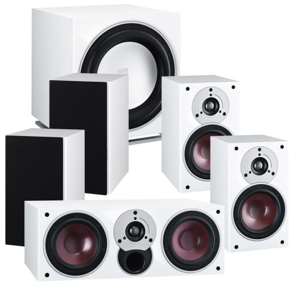 Zensor 7 5.1 Speaker System with E-12-F Sub - White