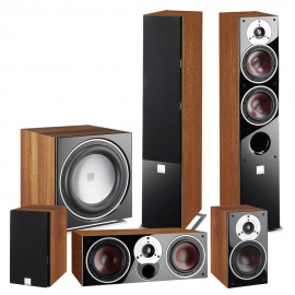 Zensor 7 5.1 Speaker System with E-12-F Sub - Black