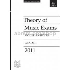 ABRSM: Theory of Music Exams 2011 Model Answers, Grade 1