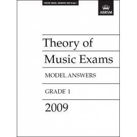 ABRSM: Theory of Music Exams 2009 Model Answers, Grade 1