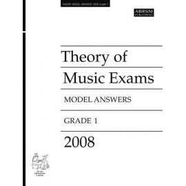 ABRSM: Theory of Music Exams 2008 Model Answers, Grade 1