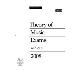 ABRSM: Theory of Music Exams 2008, Grade 4
