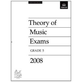 ABRSM: Theory of Music Exams 2008, Grade 5