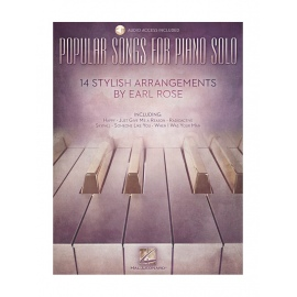 Popular Songs For Piano Solo – 14 Stylish Arrangements By Earl Rose